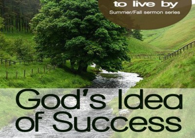 God's Idea of Success