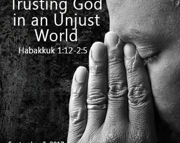 Trusting God in an Unjust World